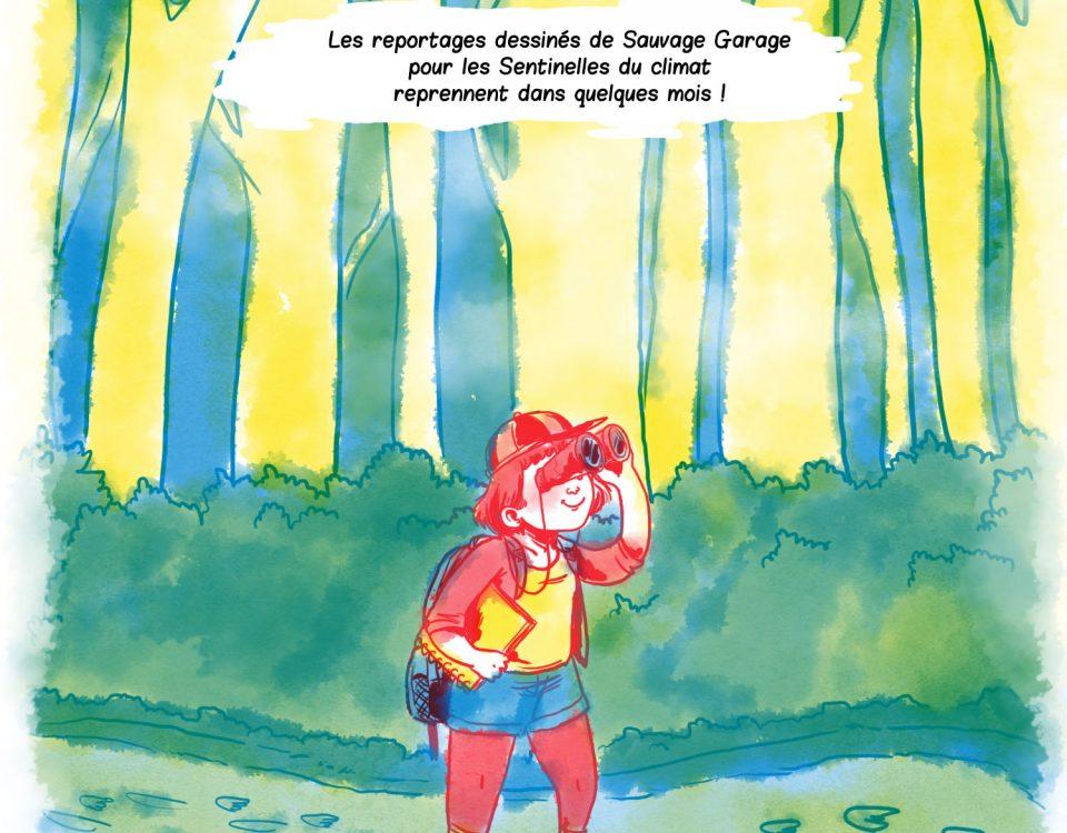 Un dessin de Anne-Perrine Couët de Sauvage Garage