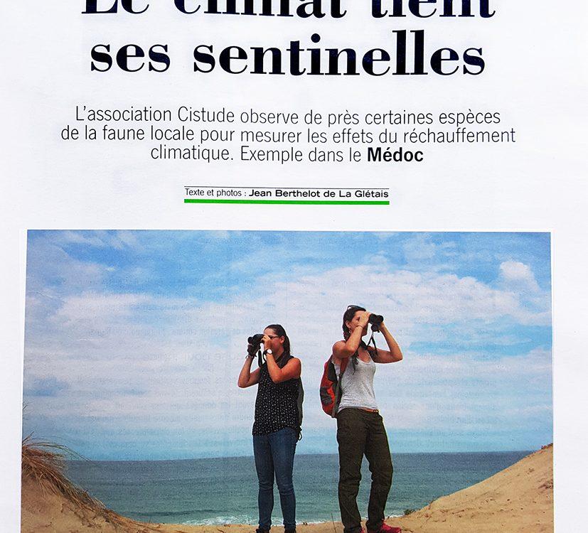 2018.09.01_SO Mag_Le Climat tient ses sentinelles p1r